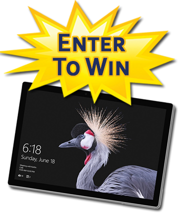 Win a Surface Pro