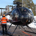 MD Helicopters Installs First Updated Onboard Systems MD500/600 Attach Point