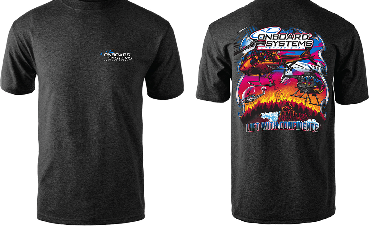 2019 Heli-Expo t-shirt