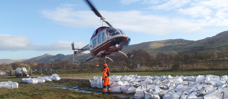 helicopter external load work
