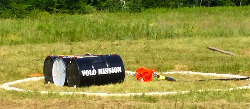 External load training at Volo Mission in Texas
