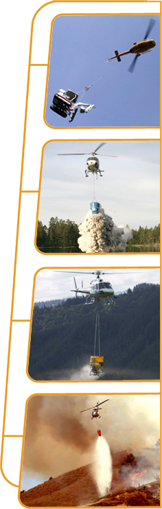 Utility Helicopters in Action
