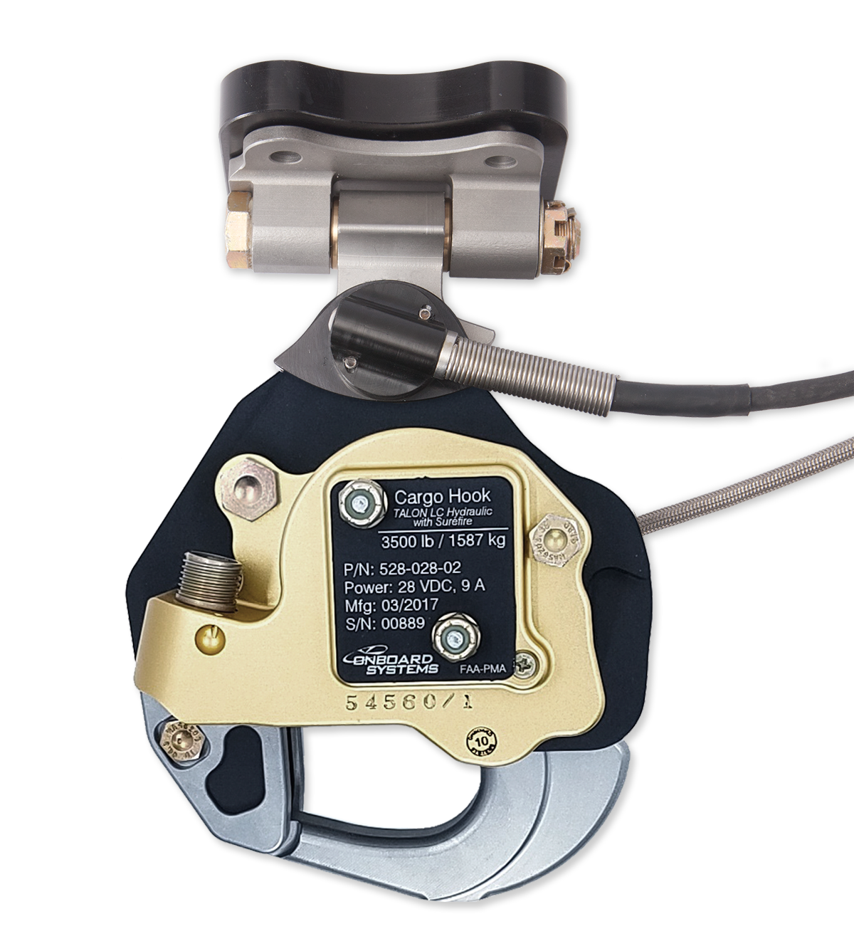 Onboard Systems MD500 Cargo Hook Kits with Surefire Release Technology Receive FAA Certification