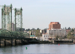 View of Downtown Vancouver WA